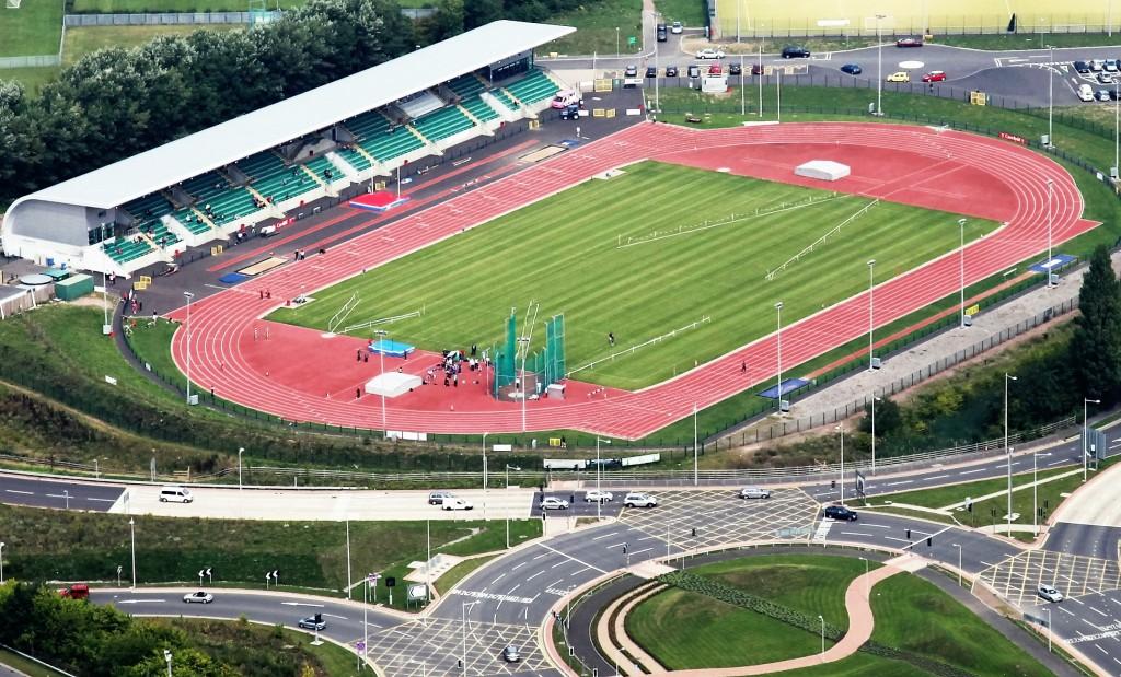 Stadium from air