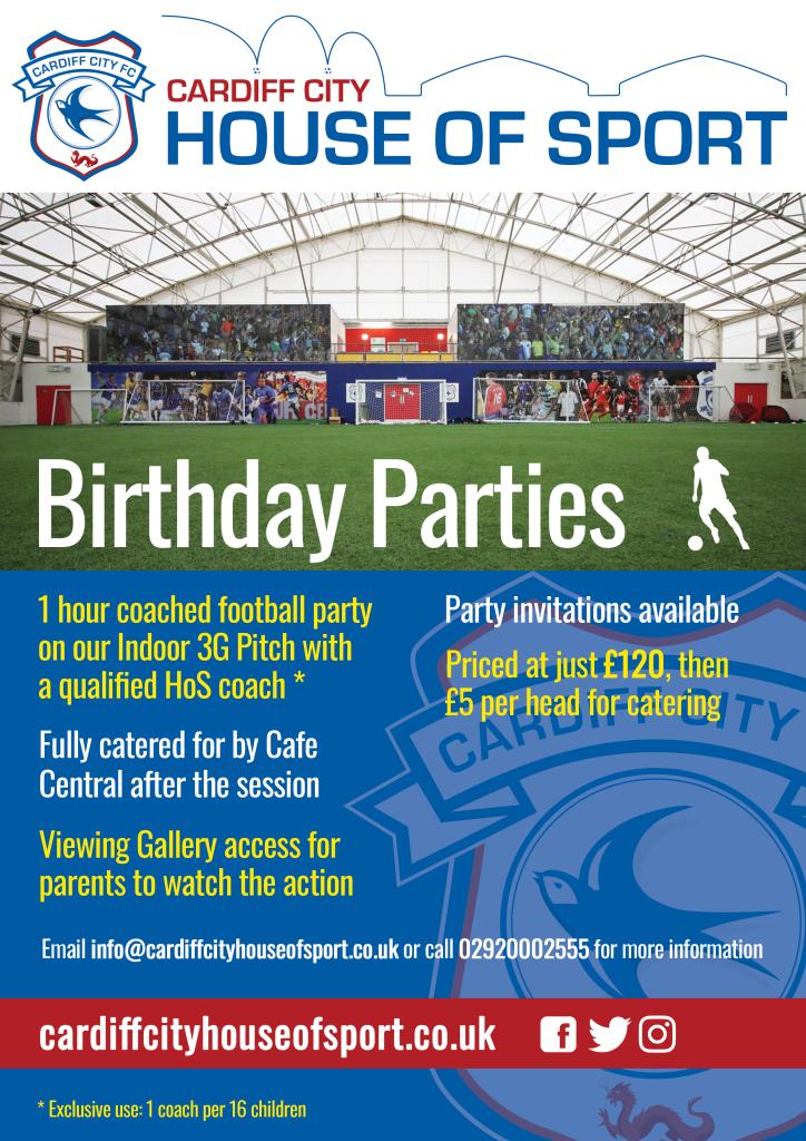 Birthday Parties 2019